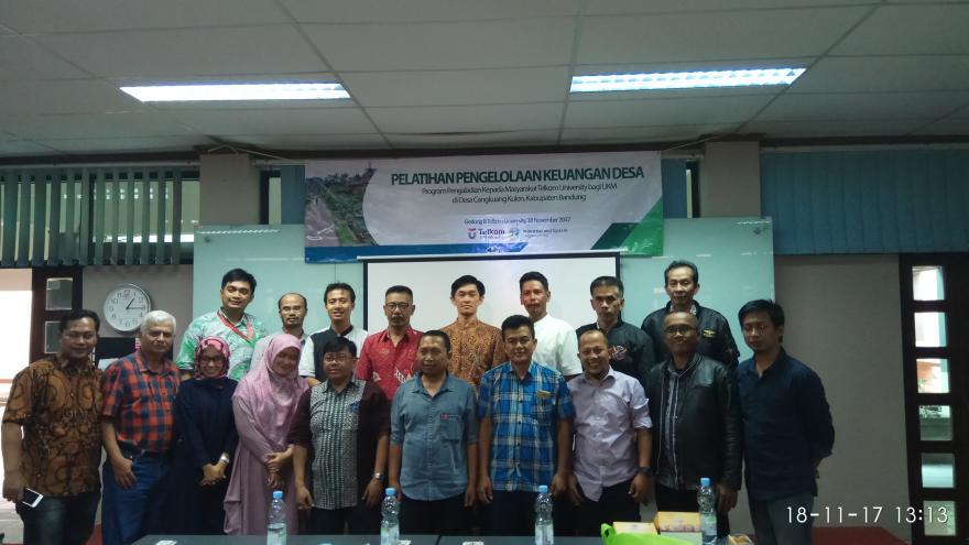 Pelatihan pengelolaan keuangan Desa